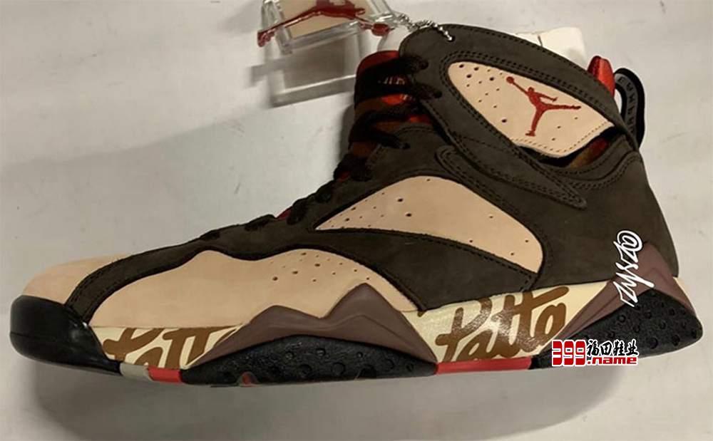 """""""奢华""""Patta x Air Jordan 7 终于来了"""