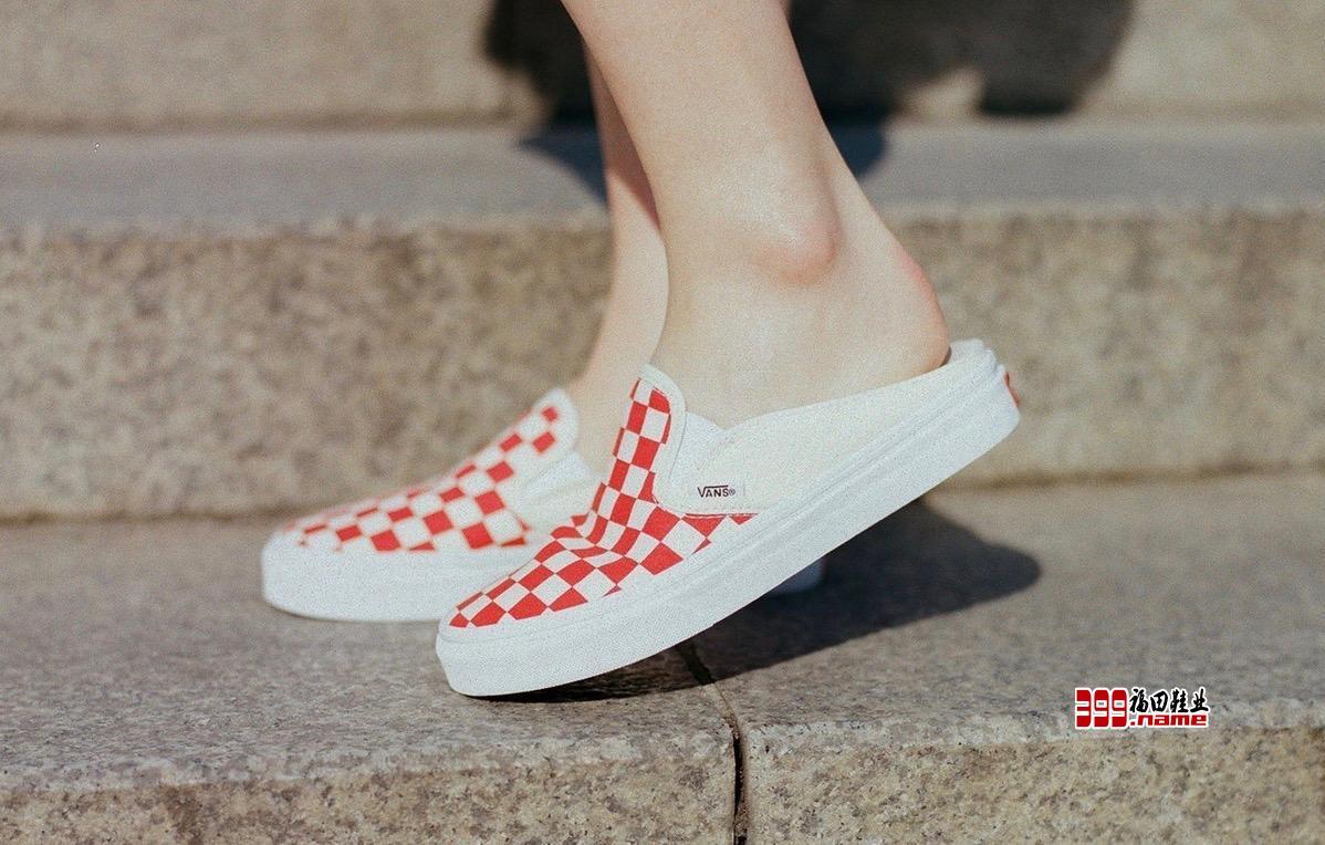 简单方便大方!Vans推出Slip-On全新懒人鞋!