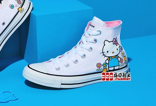 Hello Kitty x Converse 联名系列发售公布