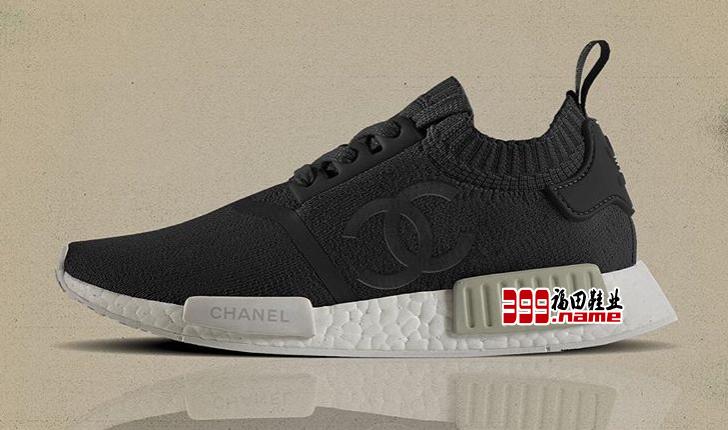 adidas x Chanel NMD R1 鞋款疑似曝光Pharrell Williams 与 adidas 的联名好戏又要开始了?