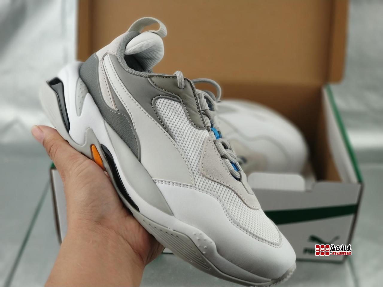 韩国爆款 唯一正确版本 诠释最高工艺  Puma彪马Thunder Spectra 金泫雅同款 时尚运动复古老爹鞋  货号:367516--24