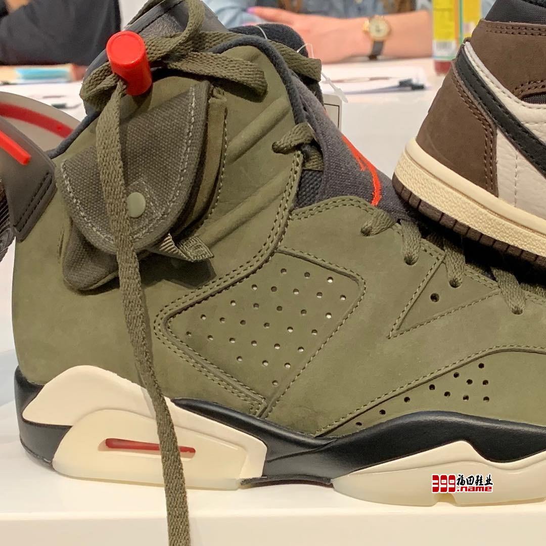 口袋设计是否博得你的青睐Travis Scott 与 Jordan Brand 的全新联名鞋款曝光