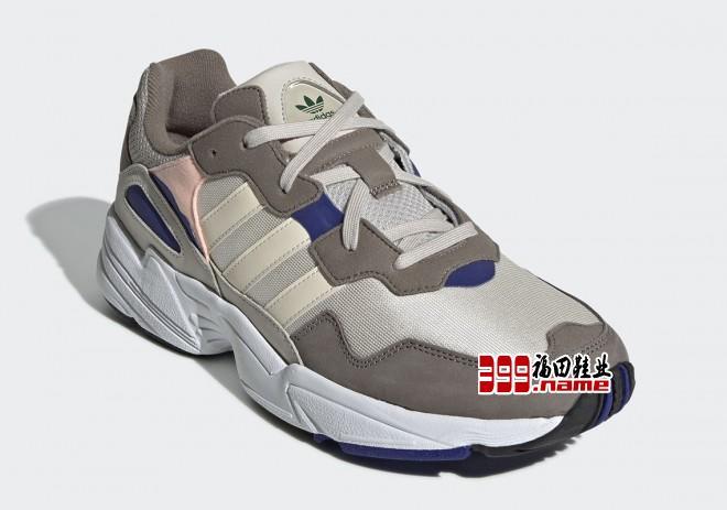 adidas 发布 Yung 96新款灰棕配色。该鞋款鞋面使用棕、米白、浅粉、深蓝色打造