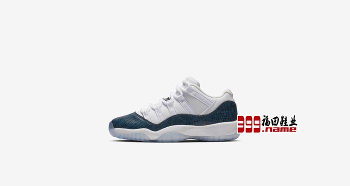 Jordan Brand发布海蓝色Air Jordan 11 Low 蓝蛇发售