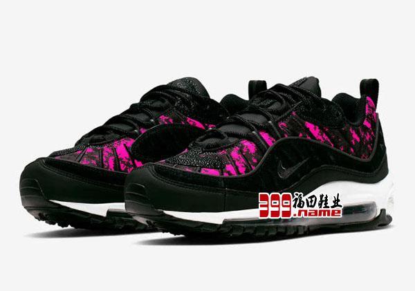 Air Max 98推出全新配色 经典像素情怀联手传奇潮鞋