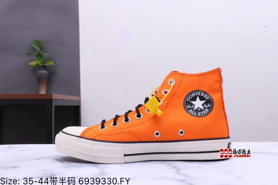户外机能风 著名防水品牌联名GORE-TEX x Converse Chuck Taylor All Star 1970s High高帮帆布硫化板鞋货号:162351CPC