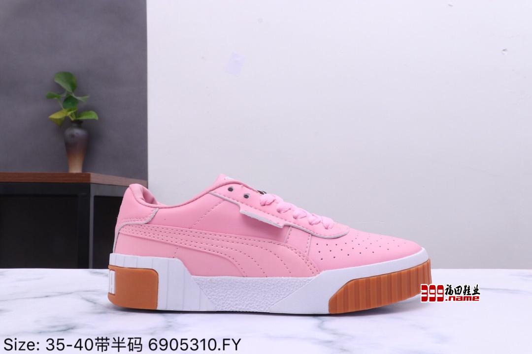 彪马休闲鞋PUMA Cali 三明治 赛琳娜同款 低帮休闲板鞋货号:369155-05