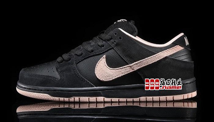 Nike SB Dunk Low Pro 黑粉新配色焕新演绎经典滑板鞋