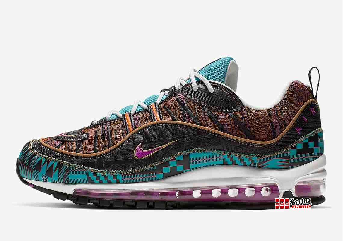"""色彩丰富,Nike Air Max 98 """"Black History Month""""即将发售"""