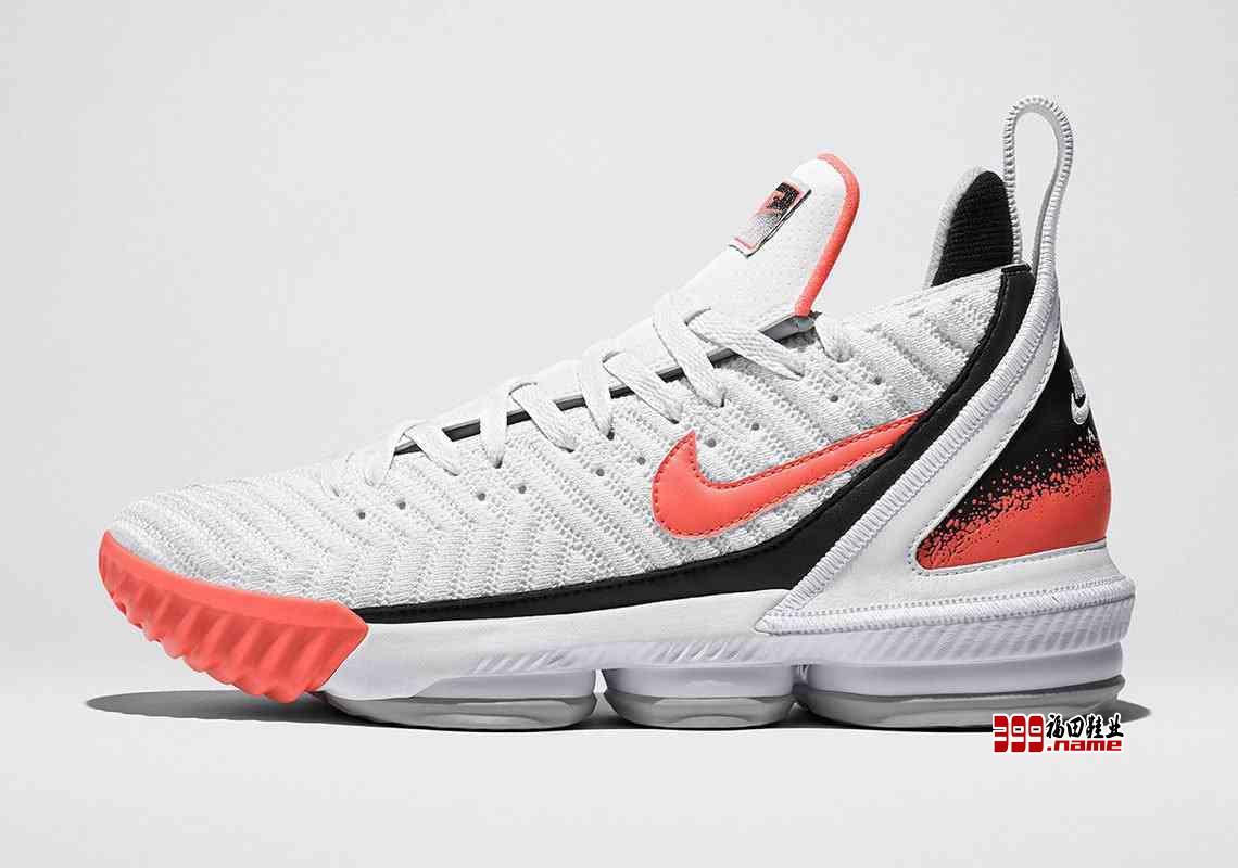 """向经典致敬,Nike LeBron 16 带来全新配色""""Hot Lava"""""""