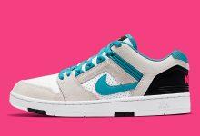 """""""南海岸"""" 配色,Nike SB Air Force 2 """"Nebula Blue / Pink"""" 即将上架发售,不容错过"""
