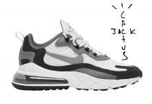 Travis Scott x Nike Air Max 270 React发售日期:2020年春季