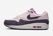 紫色复古风情,Nike Air Max 1全新配色即将发售货号: 319986-610