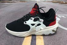 Nike Presto React OW联名高桥盾套脚系带百搭慢跑鞋货号:AV2605-016