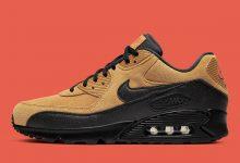Nike Air Max 90秋天小麦配色货号:AJ1285-700
