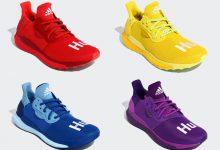 Pharrell x adidas Solar Hu Glide 菲董彩虹系列9月开售 货号:EF2381