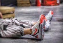 Nike LeBron XVI Hot Lava 詹姆斯16 白粉热熔岩上脚图货号:CI1522-100