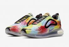 Nike Air Max 720彩虹扎染鞋面+澎湃气垫即将发布货号:CK0845-900