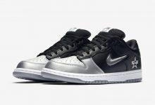 """Supreme x Nike SB Dunk Low """"Metallic Silver""""货号:CK3480-001"""