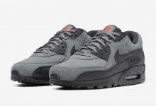Nike Air Max 90 Essential灰绒面配色货号: AJ1285-025