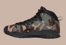 """Air Jordan 10 """"Camo"""" 发售日期确定货号:310805-200"""