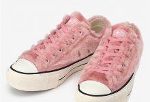 CONVERSE JAPAN 带来毛绒 All Star 鞋款