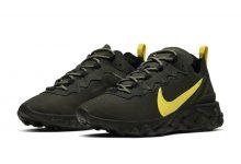 Nike React Element 55俄勒冈鸭配色出货