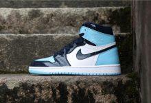 "Air Jordan 1 ""UNC Patent"" 北卡漆皮脚趾货号:CD0461-401"