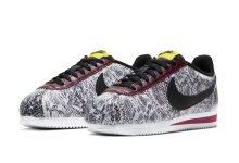 《怪奇物语》联名 Nike 再次推出经典鞋款 蛇纹图案 Nike Cortez