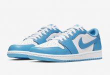 """Nike SB x Air Jordan 1 Low""""UNC""""北卡蓝配色货号:CJ7891-401"""