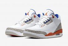 "Air Jordan 3""Knicks""  AJ 3 ""尼克斯""货号:136064-148  发售日期:2019年9月14日"
