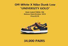 黄蓝版本 Off-White™ x Nike SB Dunk Low 你有机会抢到吗?