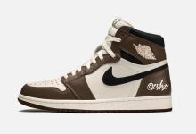 """Air Jordan 1 High OG""""Dark Mocha"""" 货号:555088-120  发售日期:2020年6月"""