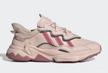"""adidas Ozweego """"Icy Pink"""" 奢华皮革鞋面 即将登场"""