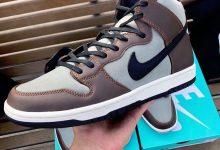 "Nike SB Dunk High Pro ""Baroque Brown"" 货号:BQ6826-201 发售日期:2019 年 10 月"