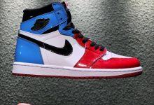 """Air Jordan 1 """"Fearless""""  高帮红蓝漆皮货号:CK5666-100"""