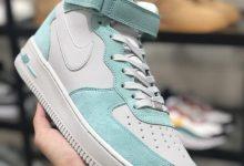 Nike Air Force 1 High ID  蒂芙尼联名货号:596728-301