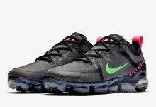Nike Vapormax 2019 骚粉+亮绿配色即将发售货号: CQ4610-001