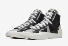Sacai x Nike Blazer Mid 货号:BV0072-100/BV0072-002 发售日期:10 月 10 日