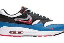 Nike Air Max 1 经典复古跑鞋 新品线稿设计Script Swoosh 配色