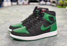 "Air Jordan 1 "" Pine Green"" 黑绿 货号:555088-030  发售日期:2020年2月29日"