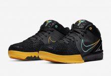 """Nike Zoom Kobe 4 Protro """" Black Snake""""蛇鳞鞋面黑曼巴配色 货号:AV6339-002"""
