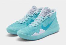 "Nike KD 12"" Blue Gaze""  货号:AR4229-400  发售日期:2019年11月1日"