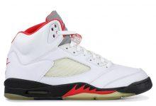 "Air Jordan 5 ""Fire Red"" 流川枫配色货号:CT4838-102  发售日期:2020年3月28日"