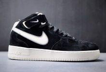 原装头层麂皮 耐克 Nike Air Force 1 Mid '07 原装3M反光 空军一号 货号:AA1118-009