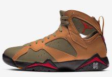 "Air Jordan 7 ""Olive Flak"" 货号:CU9307-300  发售日期:2020年春夏"