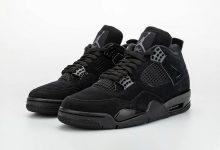 """Air Jordan 4 """"Black Cat""""  黑猫配色 货号:CU1110-010 发售日期:2020 年 2 月 22 日"""