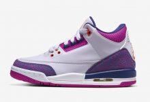 Air Jordan 3 GS Barely Grape 乔丹·布兰德 货号:441140-500