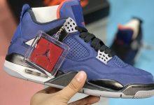 "Air Jordan 4 WNTR ""Loyal Blue"" 小阿姆 加毛保暖 货号:CQ9597-401"