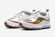 这款Nike Air Max 98拥有橙色细节 货号:CD0132-002